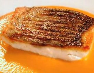 Gordon Ramsays Sea Bass Pepper Sauce | Gordon Ramsay's Recipes via Sandra Angelozzi