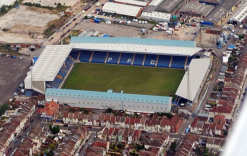 Fratton Park - Aerial - Portsmouth FC