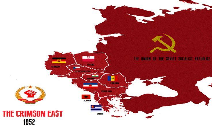 the crimson east alternative history soviet union