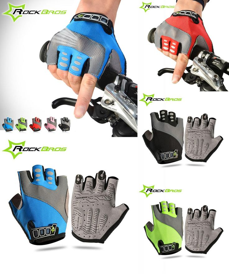 [Visit to Buy] Rockbros Cycling Gloves Men Women Tour De France Guantes Ciclismo Pro Bike Gloves Luva Mittens Downhill MTB Road Bicycle Gloves  #Advertisement