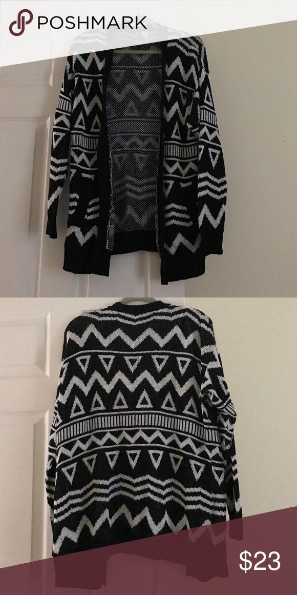 Aztec print cardigan Aztec print cardigan H&M Tops