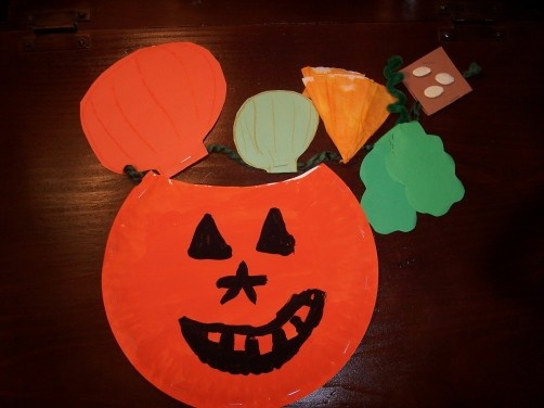 Do you know how pumpkins grow? early reader and activity