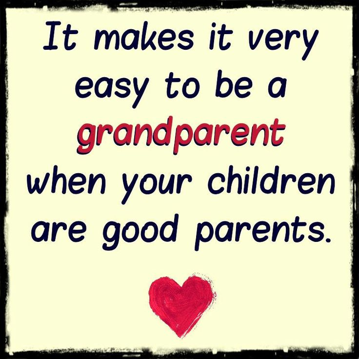 Easy To Be A Grandparent