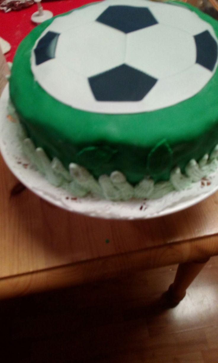 football cake 2016