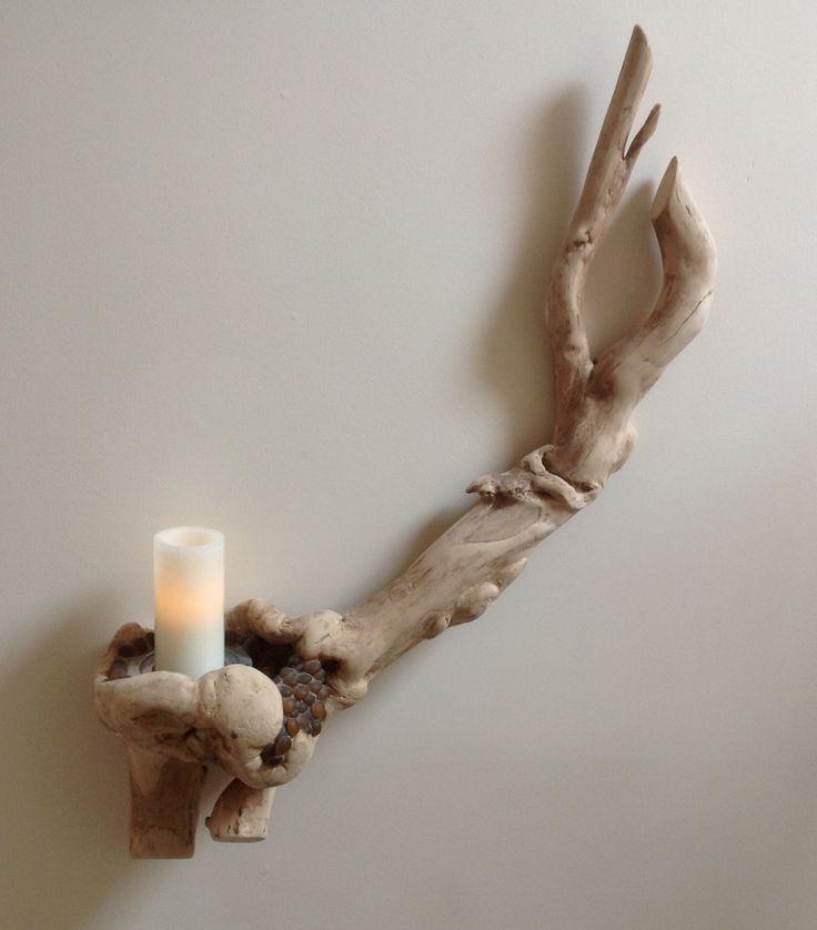 25 best ideas about driftwood wall art on pinterest for Driftwood art crafts