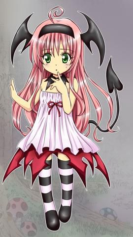 Lala Satalin Deviluke (ララ・サタリン・デビルーク Rara satarin debirūku) is the main female protagonist of To-Love Ru, but takes a more minor role in To-Love-Ru Darkness. The story begins with Lala running away from home as she didn't want to get married to any of her suitors. Due to an accident, she ends up naked in Rito Yuuki's bathtub. Upon arriving on Earth, Lala pretends to love Rito to keep herself from getting married, but really fell in love with him after she misinterprets a statement tha...