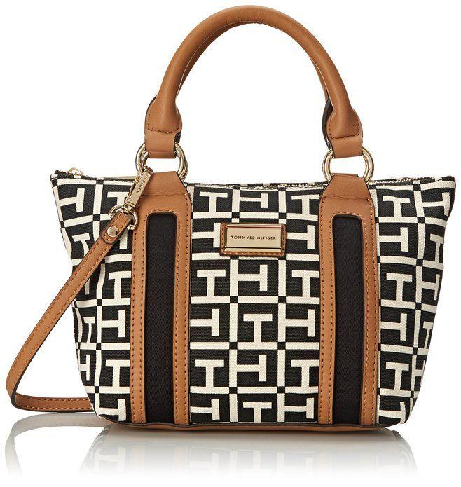 Tommy Hilfiger Lyla Mini Satchel Bag  http://amzn.to/1NZPF0u  #TommyHilfiger #handbag #christmas #presents