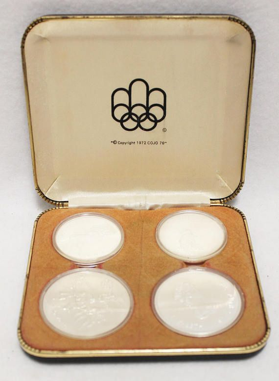1974 Canada Olympic Series 3 Commemorative Silver 4 Coins #Canada #Canadian #mint #silver #coin