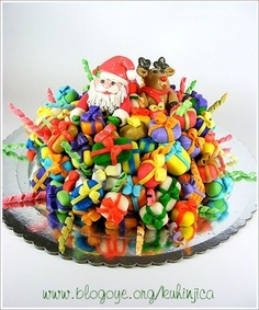 Christmas Party cake