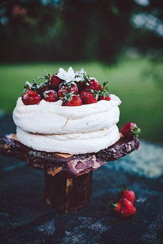 Meringue Cake!