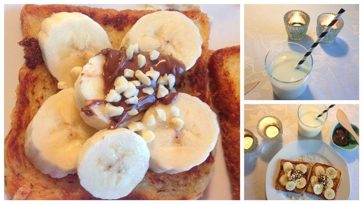 Arme riddere med banan og Nutella fra Madling.dk