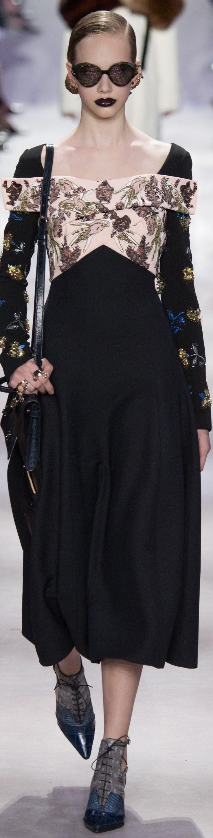 Christian Dior fall 2016 RTW