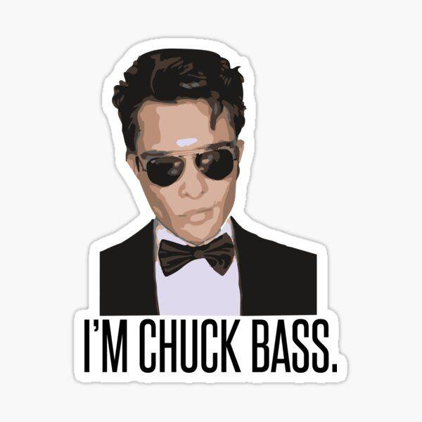 Chuck Bass Sticker Laptop Chuck Bass Sticker Tumbler Chuck Sticker Gossip Girl Sticker