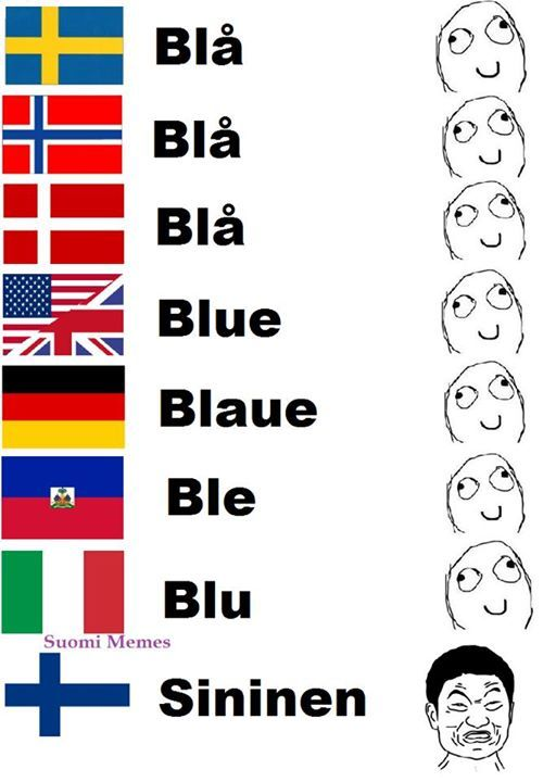 Finnish language differences compared to other languages 3