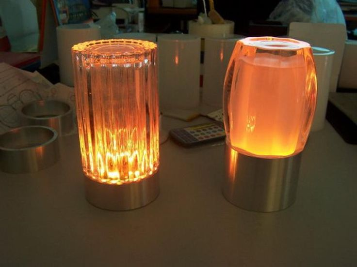 Battery Operated Table Lamps With Glows