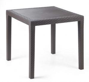 KING asztal barna 79x79x72 cm