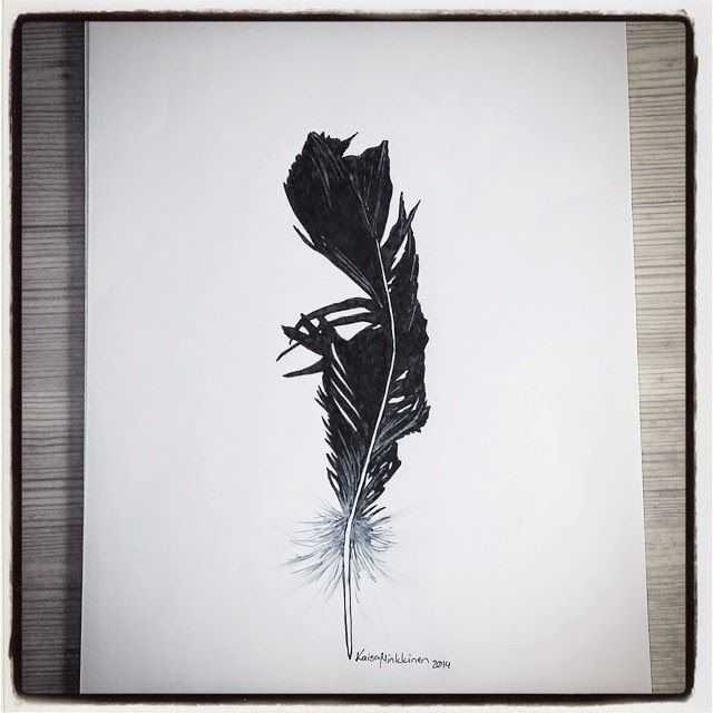 Piirustuksia / Drawings - Kaisa M: Sulka