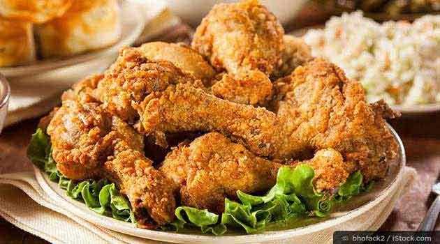 Pruebe el mejor pollo de mamá, una receta de pollo frito sin grasas trans dañinas, única del Dr. Mercola. http://recetas.mercola.com/receta-de-pollo-frito.aspx