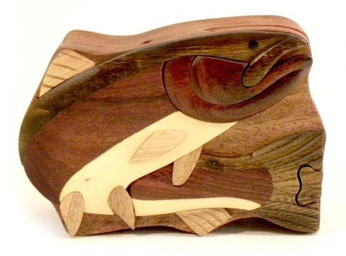 Steelhead Wooden Puzzle Box