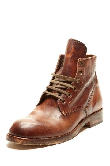 True Religion Xerxes Men Boot Cognac Brown