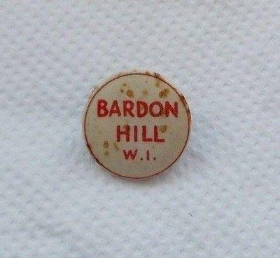 Badge - Bardon Hill W.I. (Womens Institute) Coalville Leicestershire (07/30/2015)