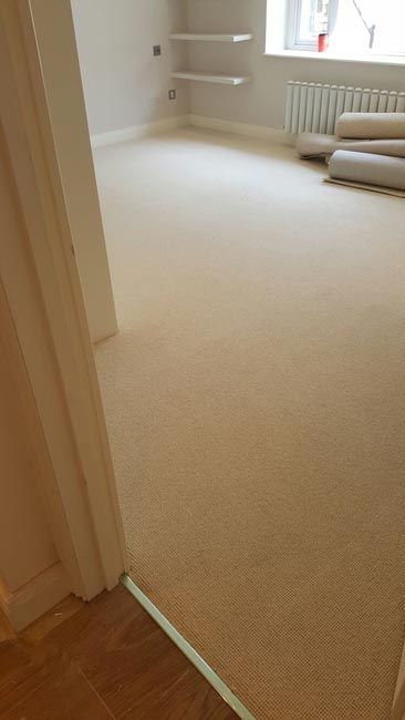 Client: Private Residence In West London Brief: To supply & install beige carpet to rooms and stairs
