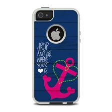 DecalGirl SKIN for a OtterBox iPhone 5 Commuter Case ~ DROP ANCHOR by Brooke