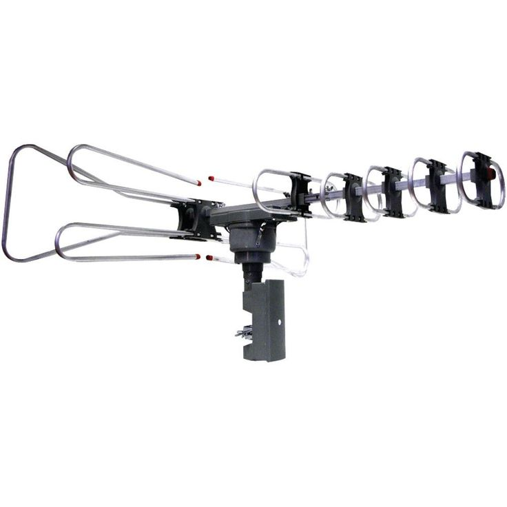 NAXA NAA-350 Amplified Outdoor TV Antenna with Remote Directional Control