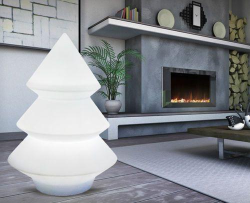 Albero di Natale/Pino Luminoso realizzato in resina. Illuminazione a led. Altezza:123 cm.