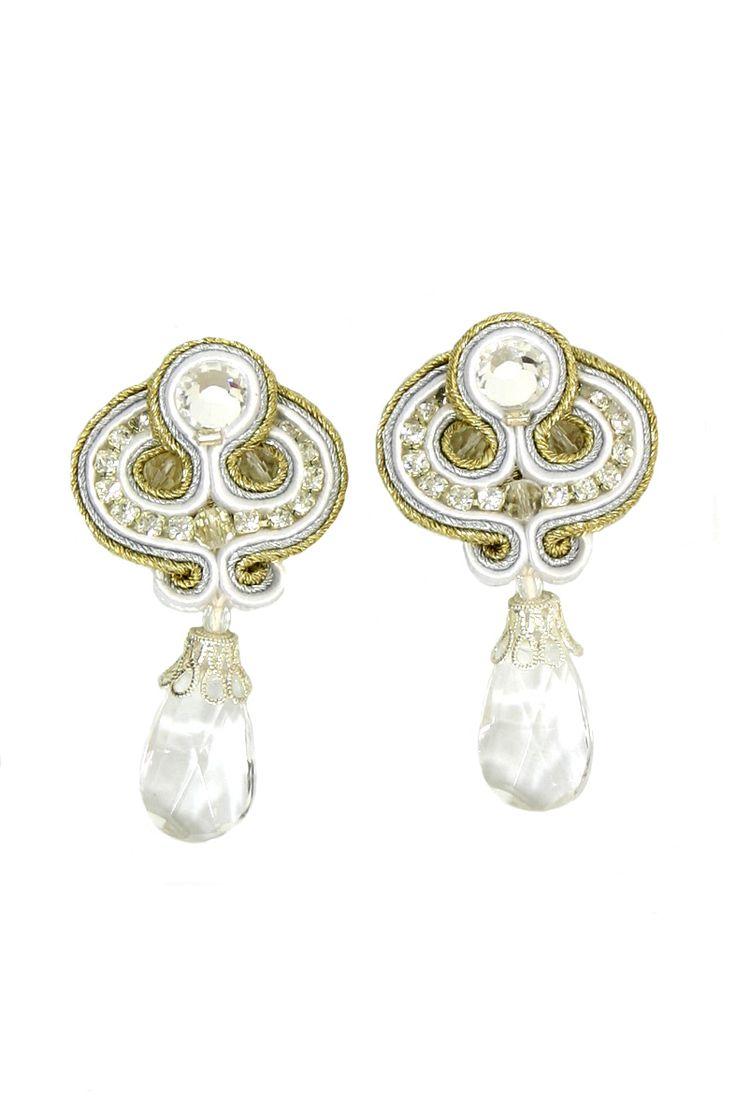 Seduction : Seduction - Dori Csengeri - Hand Embroidered Jewelry - Haute Couture Designer Jewellery