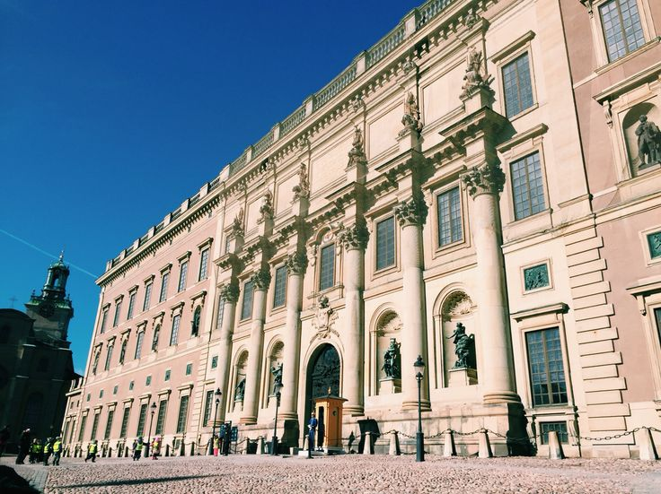 The Royal palace, Stockholm.
