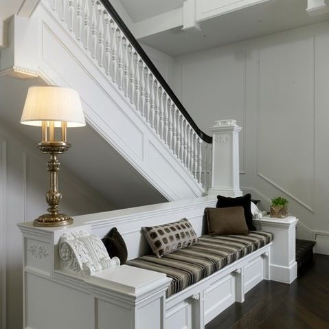 Best 42 Best Images About Half Wall Stairway Design Ideas On 400 x 300