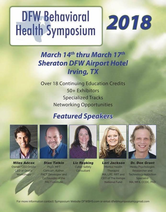 La Hacienda supports the DFW Behavioral Health Symposium. Sponsorship opportunities are going fast! Please contact Sarah Oliveira-McDonald, the Sponsorship Chair, at (817) 583-7904, for more details. #laharecovery
