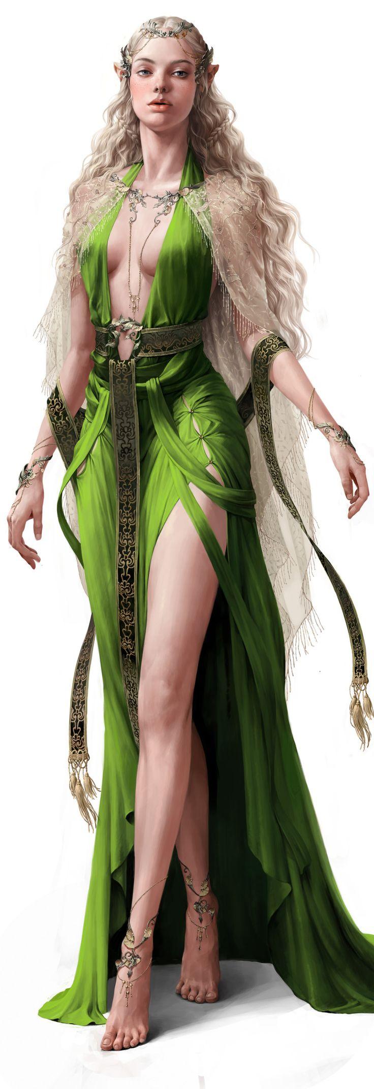 Lysa Nairel, Reina de los Elfos
