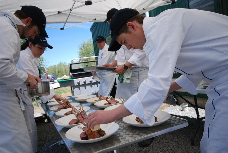 "Chef Adam Newell and a small team of students created a ""pop-up"" restaurant at Ash Ridge Winery in November 2012 during the Food and Wine Classic in Hawkes Bay."