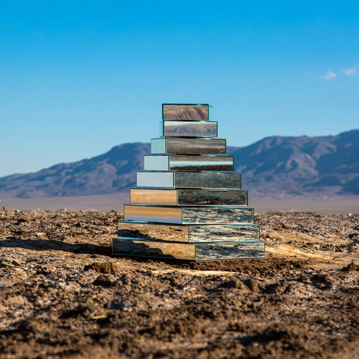 Babel Tower spins to reflect Iran's desert landscape