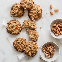 Really Good Soft & Chewy Granola Cookies