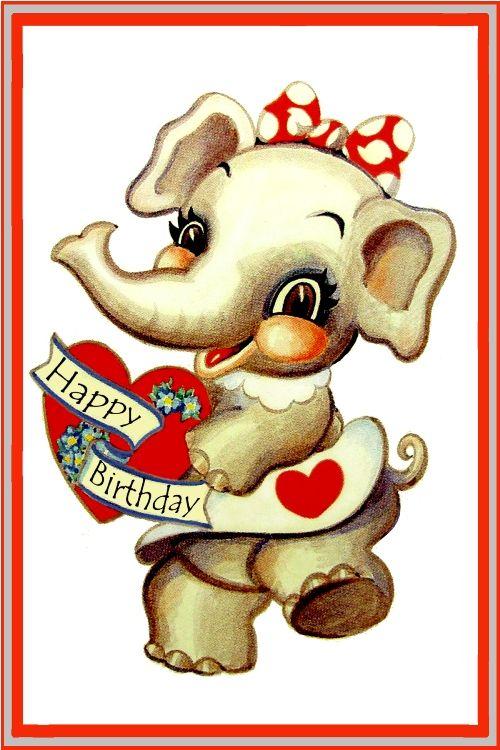Best Birthday Wishes With Elephant Pics