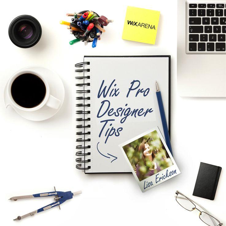 Insider Web Design Tips from Wix Pro Lisa Erickson