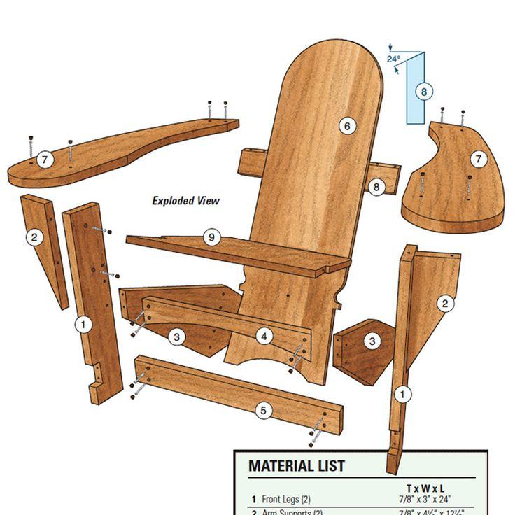 Westport Chair Woodworking Plan By Woodworker S Journal