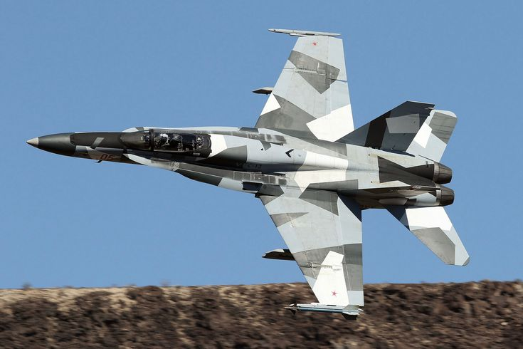 "USN McDonnell Douglas F/A-18A+ Aggressor Squadron VFC-12 ""Fighting Omars"""