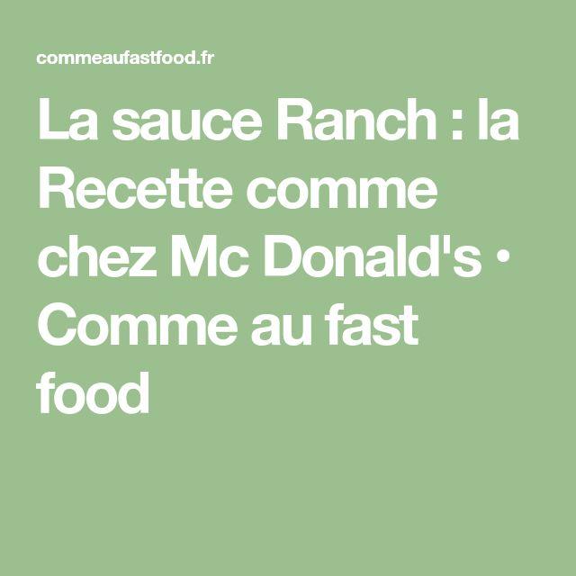 Préférence Die besten 25+ Mc donalds burger Ideen auf Pinterest | Big mac  BT68