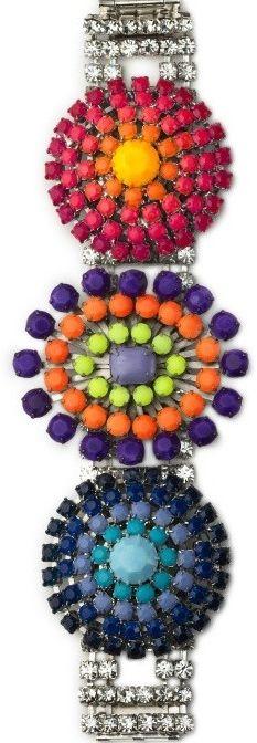 Haute Colored Bracelet by Tom Binns