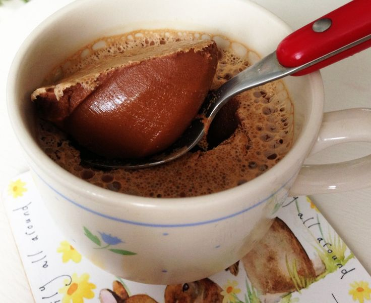 Paleo Coffee Gelatin Dessert