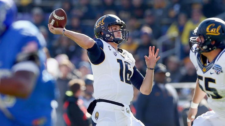 Jared Goff May Be the Next Tim Couch—In a Good Way!   -   The list is 24 names long now, and as each new one is etched at the bottom, its status as the most depressing document in sports is reaffirmed. It's been growing for 16 years and includes four first-round picks, an average of one new hope every election cycle...