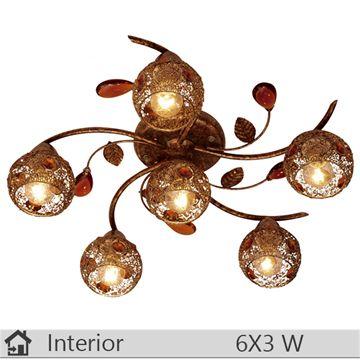 Plafoniera iluminat decorativ interior Klausen, gama Gio, model PL5