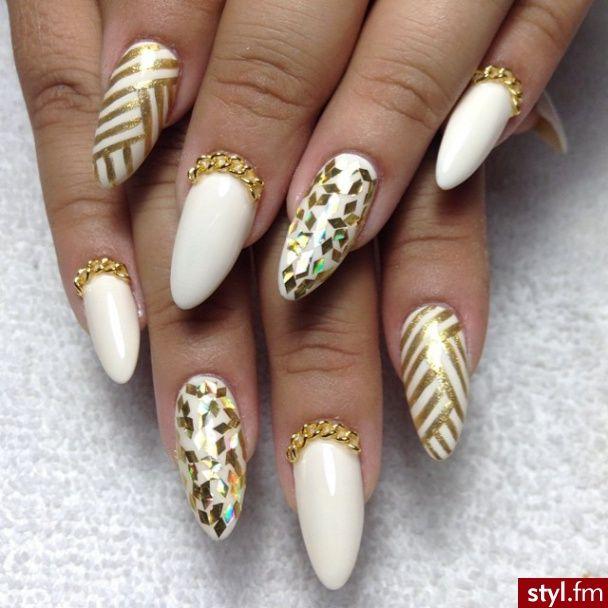 Elegant Stiletto Nail Art: Classy/Elegant On Pinterest