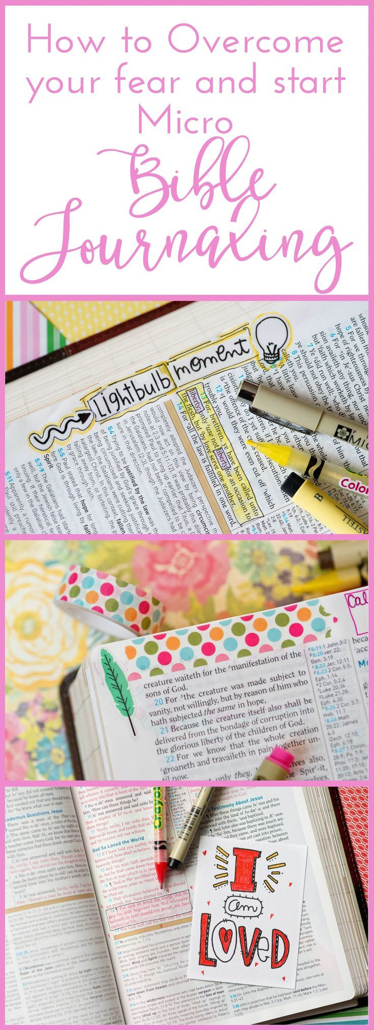 How to Overcome your Fear and Start Micro Bible Journaling!