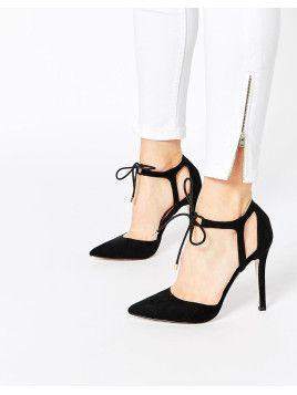 PLAY THE GAME - Hohe Schuhe mit Schnürung - Schwarz