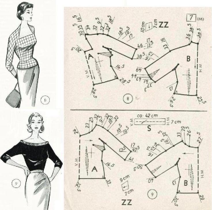 Lovely Neckline - Vintage Pattern